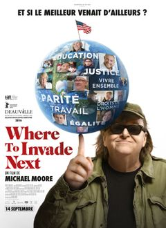 Affiche Where to Invade Next