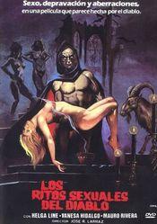 Affiche Los ritos sexuales del diablo