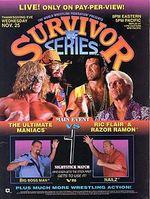 Affiche Survivor Series 1992
