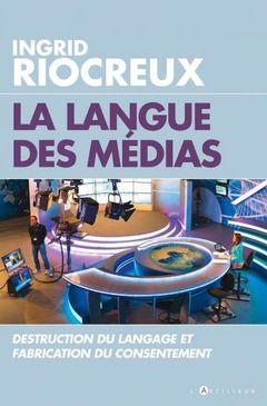 Couverture La langue des médias