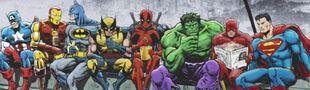 """Cover Classement ul""""Tim""""e des films de super-héros"""