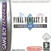 Jaquette Final Fantasy I & II: Dawn of Souls