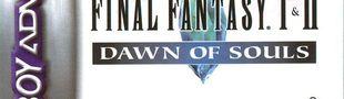Jaquette Final Fantasy I & II : Dawn of Souls