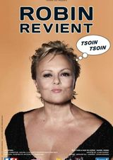 Affiche Muriel Robin revient (tsoin tsoin)