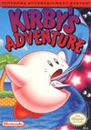 Jaquette Kirby's Adventure