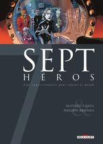 Couverture Sept Héros