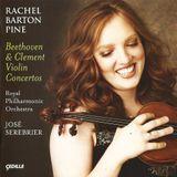 Pochette Beethoven & Clement Violin Concertos