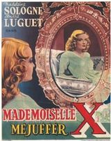 Affiche Mademoiselle X