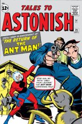 Couverture Tales to Astonish #35