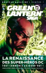 Couverture Green Lantern Saga #1