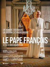 Affiche Le pape François