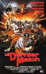 Affiche Le Dernier Match