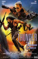 Affiche Thunder II - Le guerrier rebelle