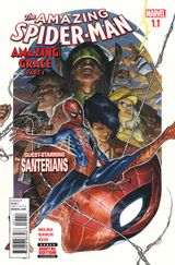 Couverture The Amazing Spider-Man: Amazing Grace