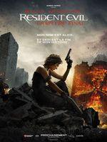 Affiche Resident Evil : Chapitre Final
