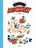 Couverture La Jeunesse de Mickey - Mickey vu par..., tome 3