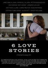 Affiche 6 Love Stories