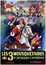 Affiche D'Artagnan l'intrépide
