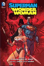 Couverture Superman/Wonder Woman Vol. 3: Casualties of War