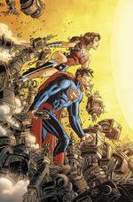 Couverture Superman/Wonder Woman Vol. 5: A Savage End