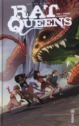 Couverture Donjons et Draguons - Rat Queens, tome 1
