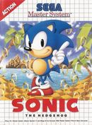 Jaquette Sonic the Hedgehog (8 bits)