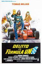 Affiche Delitto in Formula Uno