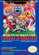 Jaquette Ghosts'N Goblins