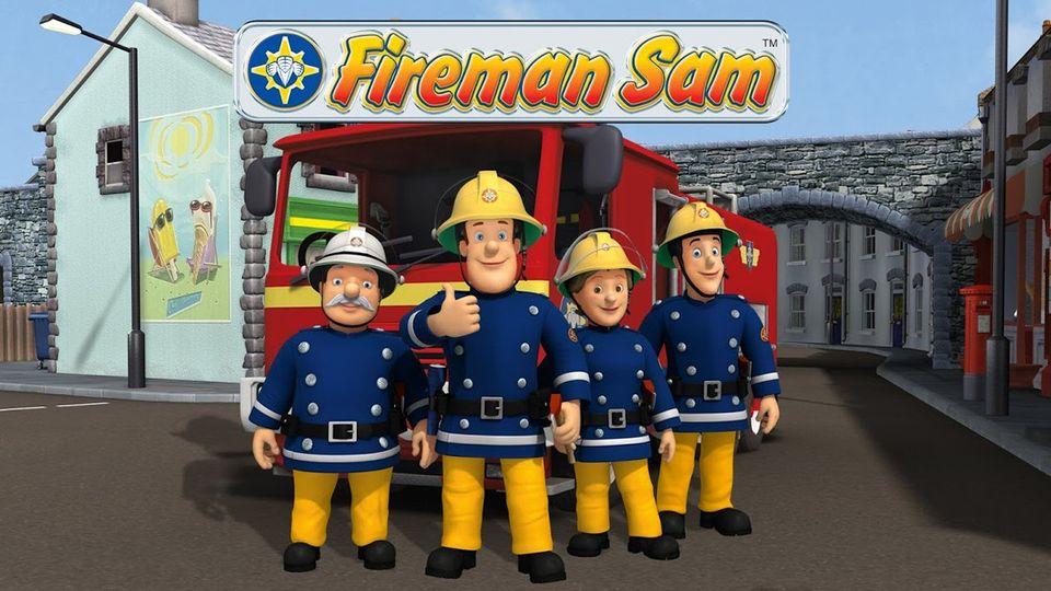 Affiches posters et images de sam le pompier 1987 - Photo sam le pompier ...
