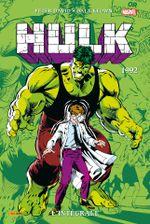 Couverture 1992 - Hulk : L'Intégrale, tome 7