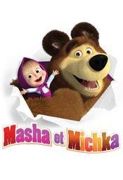 Affiche Masha et Michka