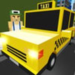 Jaquette Bricks Build Crazy Taxi Loop - Blocky Racing Roads Fever