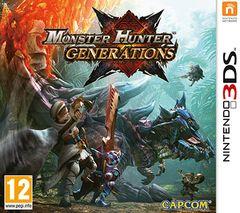 Jaquette Monster Hunter Generations