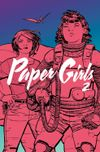 Couverture Paper Girls, tome 2