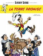 Couverture La Terre Promise - Les Aventures de Lucky Luke d'après Morris, tome 7