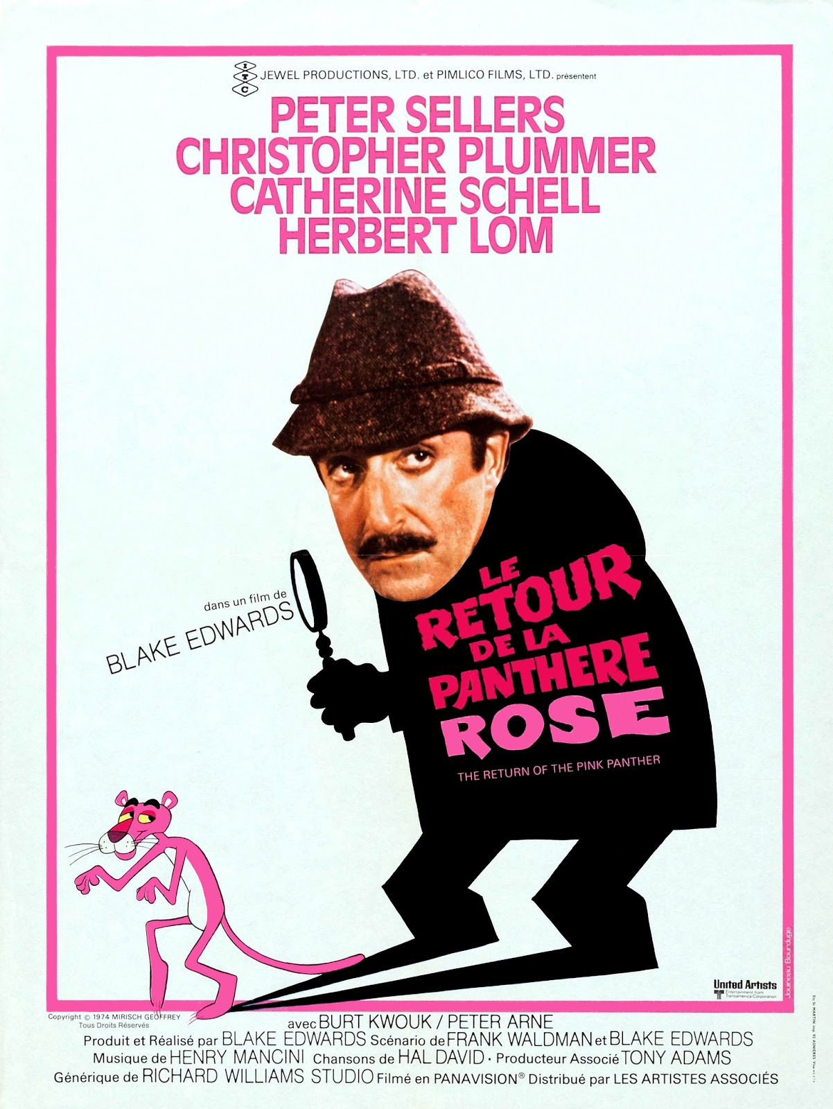 Le retour de la panth re rose film 1975 senscritique - Image panthere rose ...