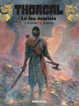 Couverture Le Feu écarlate - Thorgal, tome 35