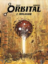 Couverture Implosion - Orbital, tome 7