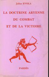 Couverture La doctrine aryenne du combat et de la victoire