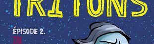 Couverture Zak l'intrépide fugitif - Tritons, épisode 2