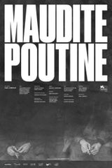 Affiche Maudite Poutine