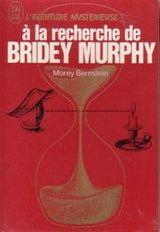 Couverture A la recherche de Bridey Murphy