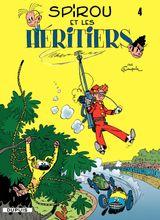 Couverture Spirou et les héritiers - Spirou et Fantasio, tome 4