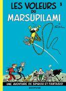 Couverture Les Voleurs du Marsupilami - Spirou et Fantasio, tome 5