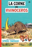 Couverture La Corne de rhinocéros - Spirou et Fantasio, tome 6