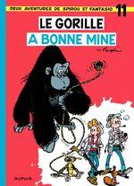 Couverture Le gorille a bonne mine - Spirou et Fantasio, tome 11