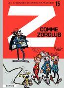 Couverture Z comme Zorglub - Spirou et Fantasio, tome 15