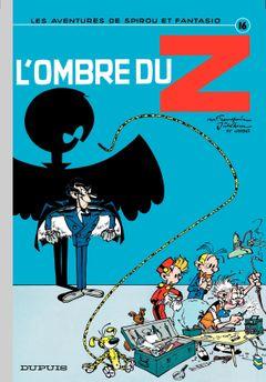 Couverture L'Ombre du Z - Spirou et Fantasio, tome 16