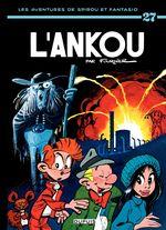 Couverture L'Ankou - Spirou et Fantasio, tome 27