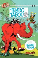Couverture Tembo tabou - Spirou et Fantasio, tome 24